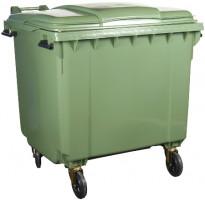Pojemniki na śmieci 1100 L, BM Serwis 1