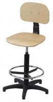 Krzesło przemysłowe - sklejka, BM Serwis 3
