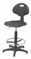Krzesło przemysłowe poliuretanowe - wysokie, BM Serwis 1