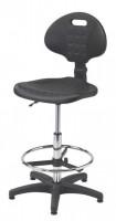 Krzesło przemysłowe poliuretanowe - wysokie, BM Serwis 2
