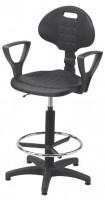 Krzesło przemysłowe poliuretanowe - wysokie, BM Serwis 3