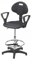 Krzesło przemysłowe poliuretanowe - wysokie, BM Serwis 4