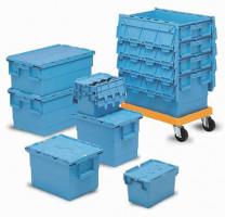 Pojemniki transportowe INTEGRA ze zintegrowaną pokrywą, BM Serwis 1