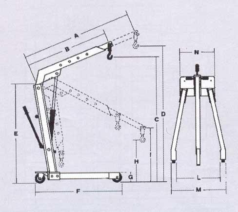 Żurawiki - udźwig 500-2000kg, BM Serwis